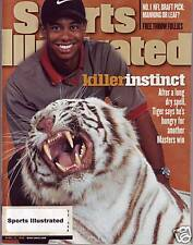 Sports Illustrated 1998 Tiger Woods Masters