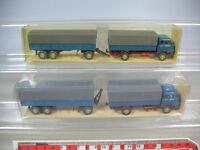 K845-0,5# 2x Wiking H0 Krupp 806 Lastzug, 486, TOP+OVP