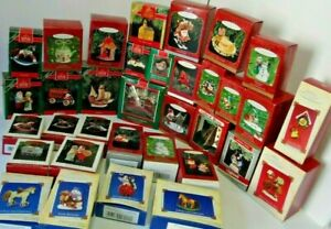 Hallmark Ornaments HUGE SELECTION, You choose YEARS Available 1989-2004