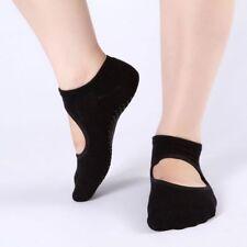 Women Yoga Barre Socks Non-slip Pilates Ballet Cotton Ankle Dacing Sport Socks