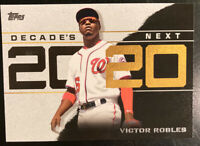 2020 Topps Decade's Next Victor Robles #DN-20 - Washington Nationals