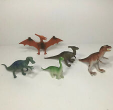 Lot of 5 Dinosaurs and Prehistoric Toys Including Pterodactyl and More