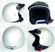 71 casco NEXX X60 jet BASIC GRAY SOFT taglia M 57-58