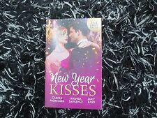 MILLS & BOON NEW YEAR KISSES 3 IN 1 LIKE NEW 2016