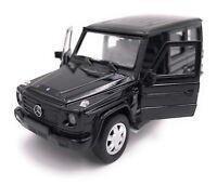 Mercedes Benz G Klasse SUV Modellauto Auto LIZENZPRODUKT 1:34-1:39 versch Farben