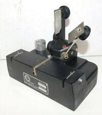 Vtg Pro 16mm Film Splicer Qts Ediquip 1060 Film Editing Equipment Motion Picture