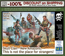 """Master Box 35199  """"Scull Clan - New Amazons"""" Desert Battle Series Scale 1/35"""