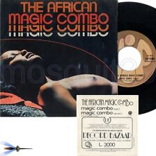 THE AFRICAN MAGIC COMBO RARE 45RPM SEXY COVER ITALY