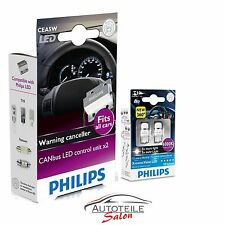 Set Philips W5W LED T10 12V 6000K X-treme + Philips CANbus controller SET  SETPR