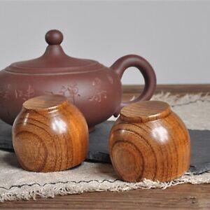 Handmade Wooden Cup Coffee Tea Beer Juice Milk Water Mug Primitive Sri Lankan