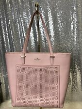 Kate Spade New York Cedar Street Perforated Taylor Tote $325 Blush Pink