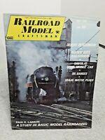 Railroad Model Craftsman Magazine May 1968 Z N HO S O G vintage