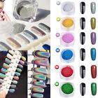 25 colors Nail Art Powder Glitter Magic Mirror Chrome Effect Dust Pigment