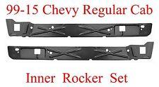 99 15 Chevy GMC Inner Rocker Panel Set 2Dr Regular Cab, Both L&R 1.2MM Thick