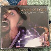 Lands of Lore Guardians of Destiny PC 4 CD Rom 1997 Windows 95 Vintage Game