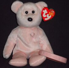 TY CURE the BREAST CANCER AWARENESS BEAR BEANIE BABY - MINT TAG - w/ BRACELET