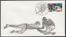 1992 Olympic Baseball29c  First Day Cover FDC Sc2619 Bill Norton Cachet