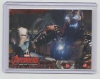 Avengers Age of Ultron Silver Parallel Trading Card  #36