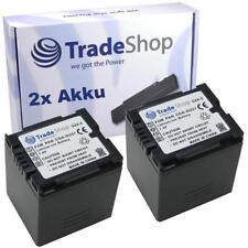 Batería 2x para Panasonic cga-du-12 cga-du-14 cga-du-21