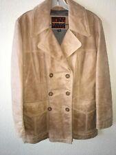 Tony Lama Collection Womens Leather Jacket Medium Double Breasted