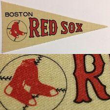 1960's Boston Red Sox Sox Decal Baseball Mlb Post Cereal Mini Pennant 1.5x3.5