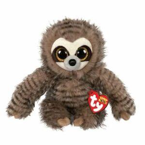 TY 36692 Sully Sloth - Beanie BOOS Plush, Multicolored 15cm