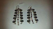 Coach Michelle Trachtenberg Poppy Multi Stone Chandelier Earrings 95019 NWT