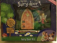 The Irish Fairy Door Company Fairy Kit Pink Arched Door New