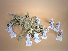 Hobby Fan 1:35 Scale FLAK 18 Afrika Korps - 8 Figures Resin HF-568