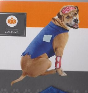 ZOMBIE Pet COSTUME Dog Small Medium Large XL Pet Fancy Dress Disguise Target NEW
