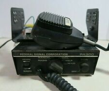 Federal Signal Corporation PA300 with Microphone & Bracket