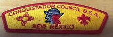 BOY SCOUTS CONQUISTADOR COUNCIL NEW MEXICO  CSP  PATCH NEW