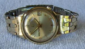 Bulova Accutron 218 Original Band 1967 14K Gold Filled Presentation Watch