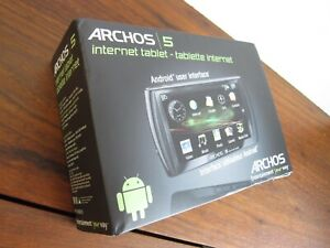 Archos Internet Tablet 5 32GB, Wi-Fi, 4.8in with Accessories