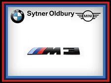 BMW Genuine M3 F80 COMPETITION BADGE BLACK REAR EMBLEM 51148068580