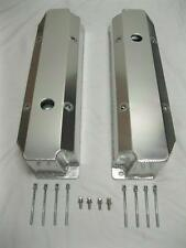 Big Block Dodge Plymouth Mopar FABRICATED Aluminum Long Bolt Valve Covers 440
