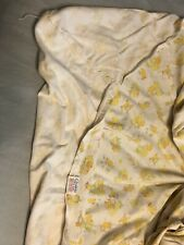 Vintage Carter's Fitted Crib Sheet 100% Cotton Jersey Knit Clowns Bears Baby