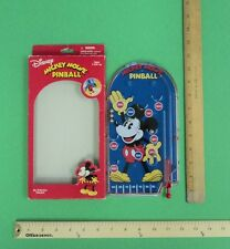 Disney Mickey Mouse Pinball Game Hand Held Travel Retro Game FLASH SALE