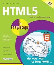 HTML5 in easy steps, 2nd Edition by Mike McGrath   Paperback Book   978184078754