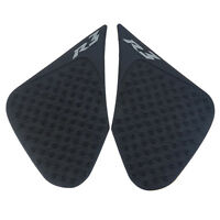 Tank Traction Side Pad Gas Fuel Knee Grip Protector For YAMAHA YZF-R3 2013-2016