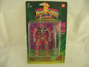Power Rangers Evil Space Aliens Lord Zedo Action Figure