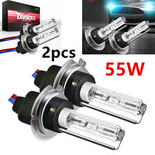 2PCS Powerful 6000K Xenon 55W Replacement CAR HID KIT's Light Bulbs H7 Accessory