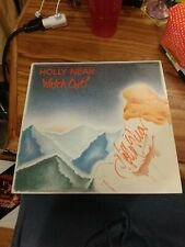 Holly Near~Watch Out! 1984 Folk AUTOGRAPHED on the cover excellent condition
