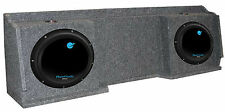"2) Planet Audio AC12D 12"" 3600W Subs + GMC Chevy Silverado Ext Cab '99-06 Box"