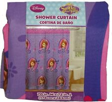 Disney Fabric Shower Curtain Sofia the First Mickey Mouse