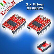 2x Driver DRV8825 Motore Stepper Stampante 3D RepRap RAMPS 1.4 Prusa Arduino CNC
