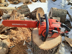 """Used Homelite 360 Chainsaw 16"""" Bar and Chain 330 XL 2 Super No Reserve"""
