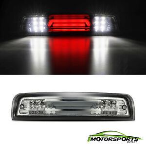 Third Brake Tail Light Lamp for 2009-2018 Dodge Ram Cargo Pickup Smoke 3D Led