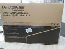 BRAND NEWLG 27GL83A-B 27 Inch Ultragear QHD IPS 1ms NVIDIA G-SYNC Gaming Monitor