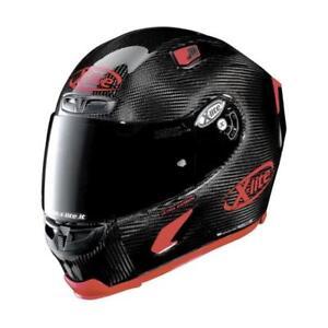 Casco Moto Integral X-LITE X-803 Ultra Carbono Puro Sport 03 Fibra de Carbono